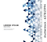modern graphic design elements. ... | Shutterstock .eps vector #637815994