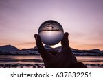 Glass Ball Reflection Of...