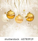 light christmas backdrop with... | Shutterstock .eps vector #63783919