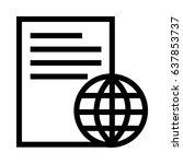 world file | Shutterstock .eps vector #637853737