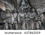 minsk  belarus   september 3 ... | Shutterstock . vector #637862029
