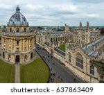 radcliffe camera and all souls... | Shutterstock . vector #637863409