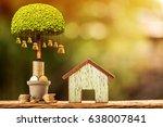 loans for real estate concept ... | Shutterstock . vector #638007841