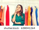 clothing  fashion  style and... | Shutterstock . vector #638041264