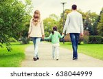 family  parenthood  adoption... | Shutterstock . vector #638044999