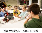 education  children  technology ... | Shutterstock . vector #638047885