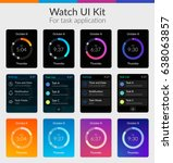 watch ui kit design concept for ...
