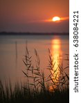 Small photo of Sunrise over Bogue Sound in Carteret County, North Carolina
