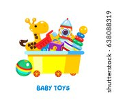 children's toys in a box....