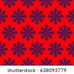 raster illustration. stylish... | Shutterstock . vector #638093779