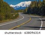 august 31  2016   mount denali... | Shutterstock . vector #638096314
