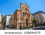 catholic church in tbilisi ... | Shutterstock . vector #638096575