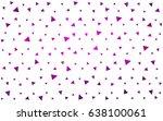 dark purple vector abstract...   Shutterstock .eps vector #638100061