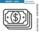 money   cash icon. professional ... | Shutterstock .eps vector #638104081