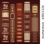 color book background | Shutterstock .eps vector #63811126
