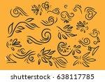 vintage elements for your... | Shutterstock .eps vector #638117785