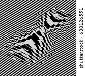 waveform background. dynamic... | Shutterstock .eps vector #638126551