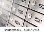 safety deposit box wallpaper....   Shutterstock . vector #638149915