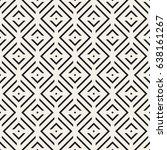 vector seamless pattern. modern ... | Shutterstock .eps vector #638161267