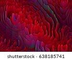 abstract  extraterrestrial...   Shutterstock . vector #638185741