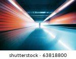 Wide Angle Tunnel Interior