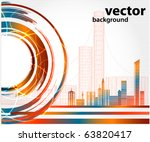 abstract urban city   Shutterstock .eps vector #63820417