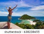 koh nang yuan thailand june 2 ... | Shutterstock . vector #638238655