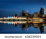 Stock photo vancouver skyline canada dwntown west end city 638239051