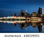 Stock photo vancouver skyline canada dwntown west end city 638239051