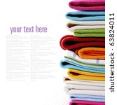 Pile Of Linen Kitchen Towels O...
