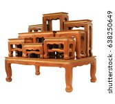 Small photo of set of altar table