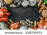 Seafood Cuisine Plate As An...