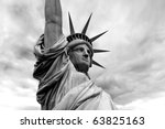 Photo Of The Statue Of Liberty...