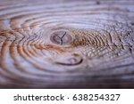 Macro Closeup Of Tree Stump...