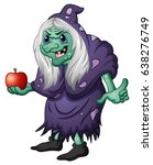 vector illustration of old evil ... | Shutterstock .eps vector #638276749