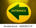 the green entrance | Shutterstock . vector #638282119