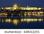 prague  czech republic   21... | Shutterstock . vector #638312251