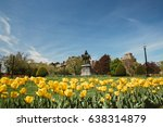 george washington statue and...   Shutterstock . vector #638314879