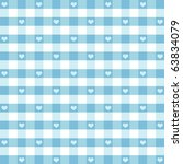 Gingham Check And Hearts...