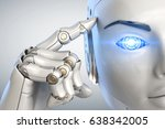 Robot Holds A Finger Near The...