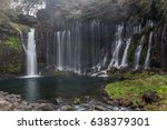 shiraito falls in fujinomiya   Shutterstock . vector #638379301
