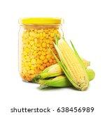 Sweet Corn In Glass Jar...