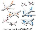 Isometric Planes Set. Private...