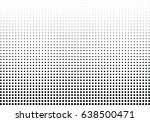 abstract halftone dotted... | Shutterstock .eps vector #638500471