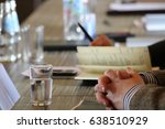 business conference | Shutterstock . vector #638510929