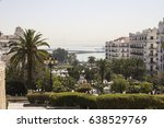 Small photo of Algiers, Algeria - March 27, 2017: Algiers skyline, city view from the hill, Algiers, Algeria