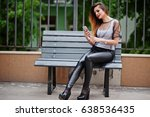 Fashionable Woman Look At Whit...