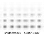 abstract halftone dotted... | Shutterstock .eps vector #638543539