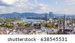 aerial of bonn  the former... | Shutterstock . vector #638545531