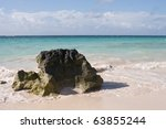 Scene Of Clear Blue Waters With ...
